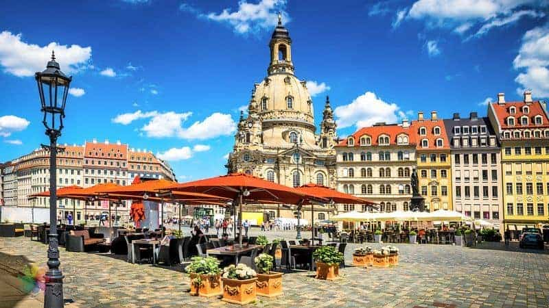 almanya gezilecek yerler Dresden