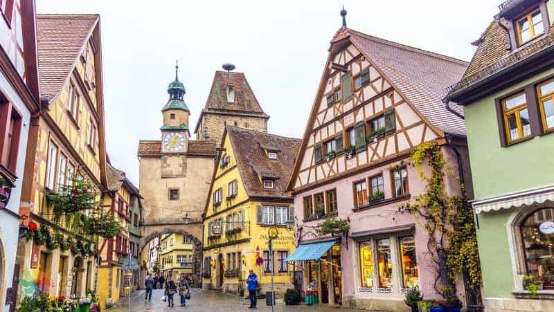 Rothenburg ob der Tauber gezisi