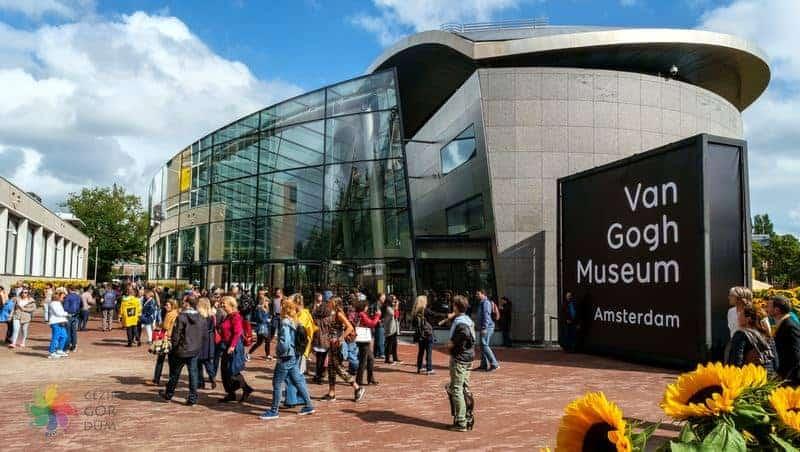 amsterdam'da gezilecek yerler Van Gogh Müzesi