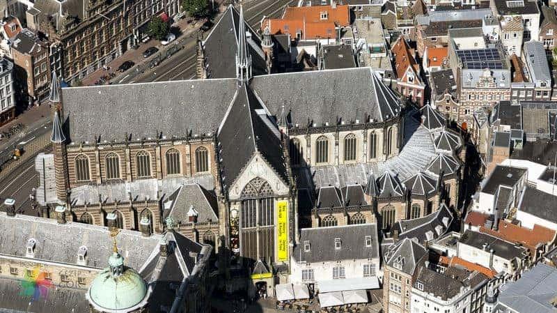 amsterdam gezilecek yerler Nieuwe Kerk