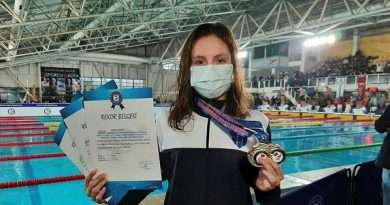 Dünya rekortmeni milli yüzücü Merve Tuncel: Hedefim olimpiyat kotası