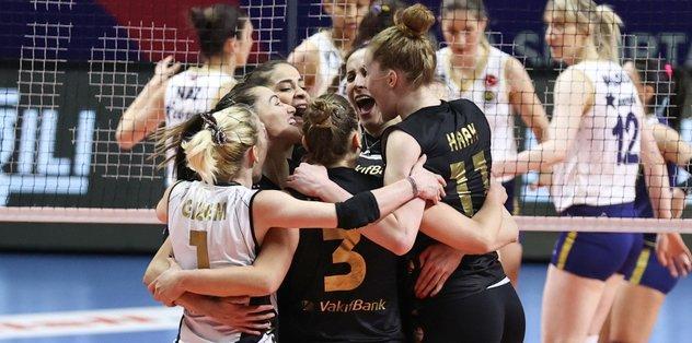 Fenerbahçe Opet Vakıfbank: 0-3 | MAÇ ÖZETİ
