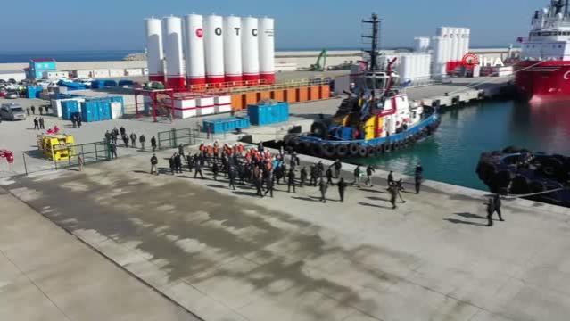Filyos Liman altyapısı yüzde 99.5'e ulaştı